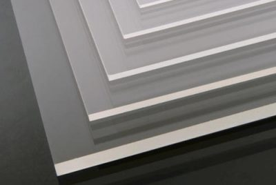 Acrylglas Detail