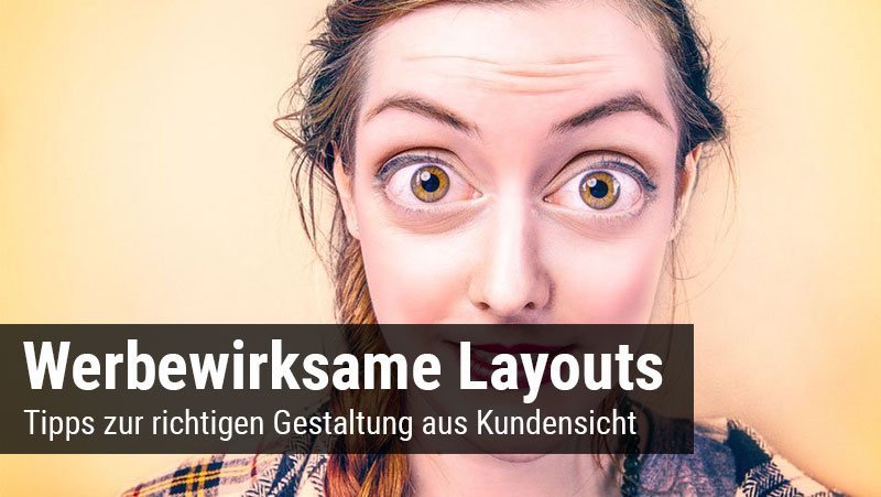 Blog Layoutgestaltung