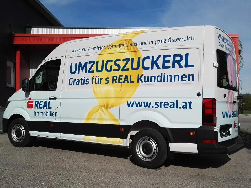 Fahrzeugbeschriftung sReal