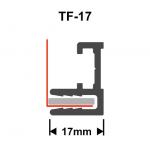 Textilspannrahmen Profil TF17