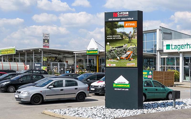 Werbefläche Hollabrunn