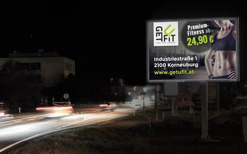LED Werbefläche Stockerau Ost
