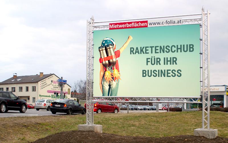 Werbefläche Stockerau Ost